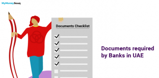 Documents required for banks in UAE
