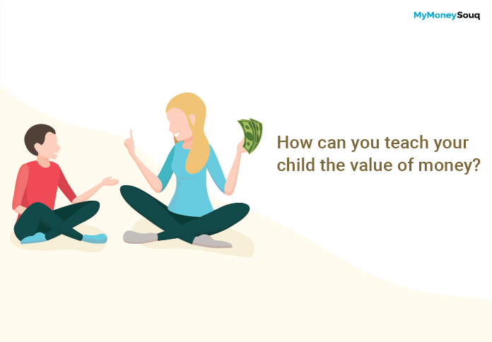 How can you teach your child the value of money