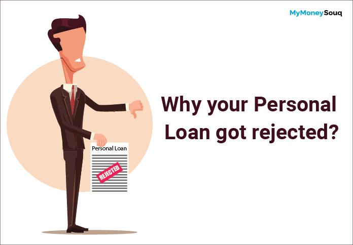 Personal loan rejection reasons