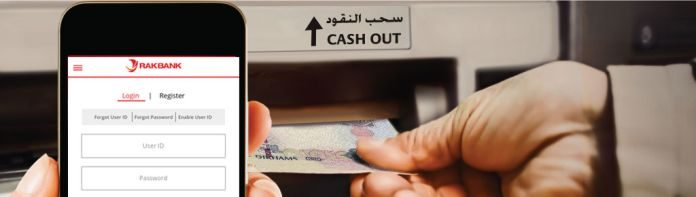 rak bank mobile cash