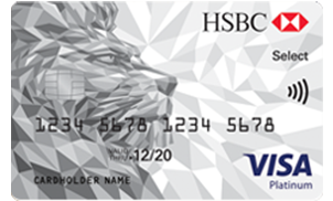 hsbc platinum select credit card