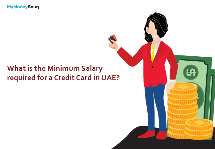 minimum salary required for credit card in UAE