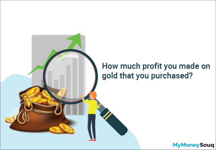 Profit on gold purchase