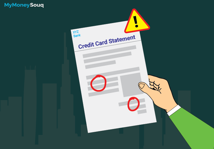 credit cards statement errors