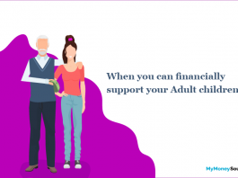 When you can financially support your Adult children