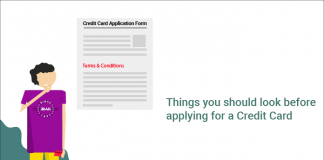 Things you should look before applying for a Credit Card