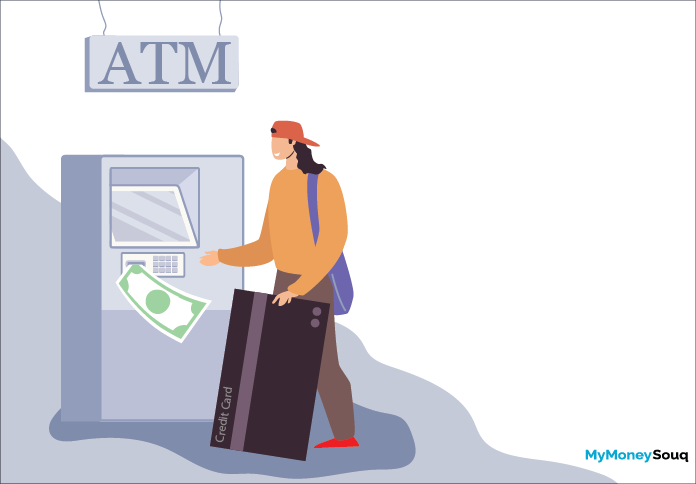 cash withdrawal using credit card
