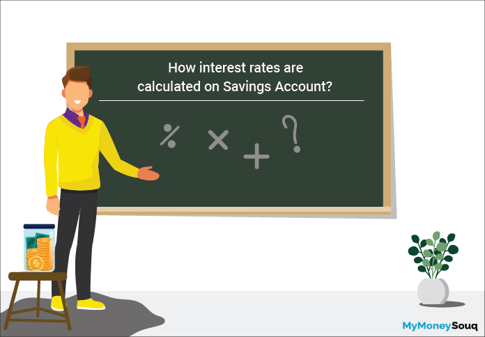 calculate interest on savings account