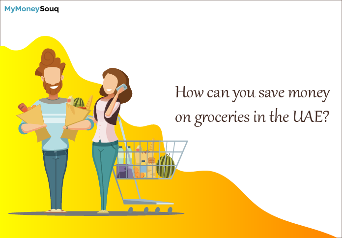 How can you save money on groceries in the UAE