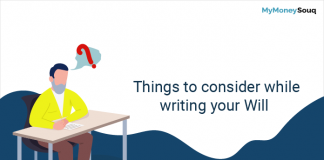 things to consider writing will