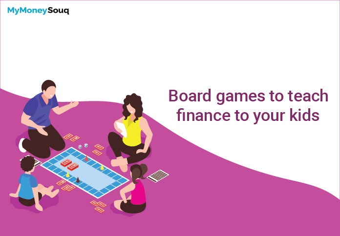 Board games to teach finance to your kids