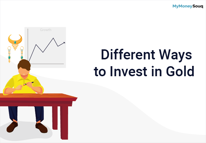 different ways to invest in gold