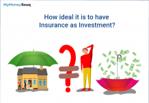 how ideal is to have insurance as investment