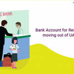 bank accounts for residents moving out of uae