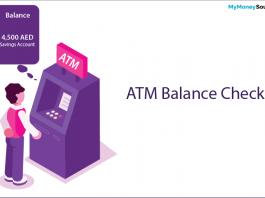 ATM balance check
